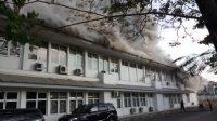 Kebakaran Kantor Dinkes Sulsel, Kamis, 30/07/2020